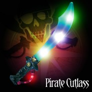 Light Up Pirate Cutlass Sword 2