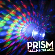 Light Up Prism Ball Necklace 2