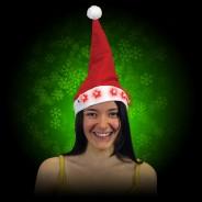 Flashing Santa Hats 4