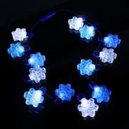 Flashing Snowflake Necklace Wholesale 5