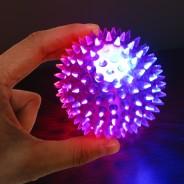 Small Flashing Spikey Ball: 6.5cm 5