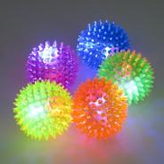 Small Flashing Spikey Ball: 6.5cm 2