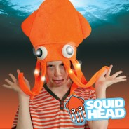 Flashing Squid Hat Wholesale 1