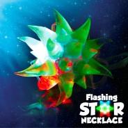 Light Up Crystal Star Necklace 5