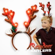 Reindeer Antler Headband 5
