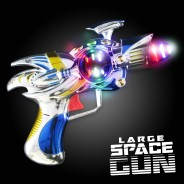 Light Up Space Guns Large 2