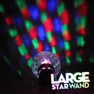 Large Light Up Star Wand 11