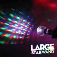Large Flashing Star Wand Wholesale 10