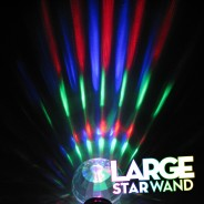 Large Light Up Star Wand 6