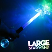 Large Light Up Star Wand 9