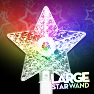Large Flashing Star Wand Wholesale 5