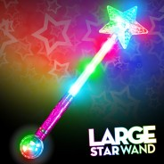 Large Flashing Star Wand Wholesale 1