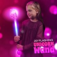 "20"" Flashing Unicorn Wand Wholesale 1"