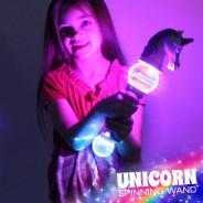 Light Up Unicorn Spinner 2