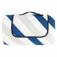 Fleece Picnic Blankets 6 Blue/Grey
