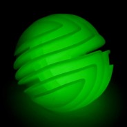 Glow in the Dark Flexi Ball 1