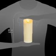 23cm Flickabright Wax Drip Candle 2