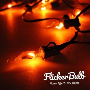 10 Flicker Bulb Fairy Lights - Connectable 19