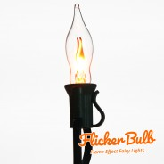 10 Flicker Bulb Fairy Lights - Connectable 8