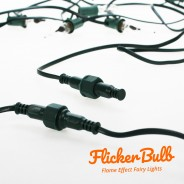 10 Flicker Bulb Fairy Lights - Connectable 11