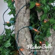 10 Flicker Bulb Fairy Lights - Connectable 18