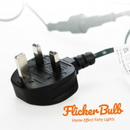 10 Flicker Bulb Fairy Lights - Connectable 12