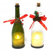 Flickering Candle in a Bottle (Single) 6