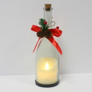 Flickering Candle in a Bottle (Single) 3