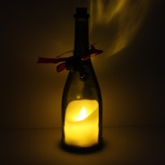 Flickering Candle in a Bottle (Single) 4