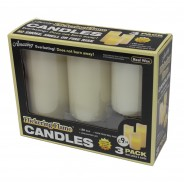 Flickering Flame Candles (3 Pack) 3