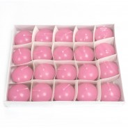 Small Floating Candles 4 20 pack pink