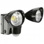 Motion Sensor Twin LED Floodlight - Battery Operated 6