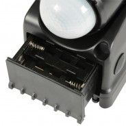 Motion Sensor Twin LED Floodlight - Battery Operated 8