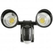Motion Sensor Twin LED Floodlight - Battery Operated 7
