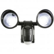 Motion Sensor Twin LED Floodlight - Battery Operated 5