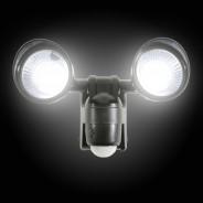 Motion Sensor Twin LED Floodlight - Battery Operated 4