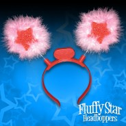 Furry Star Head Boppers 2