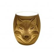 Fox Face Porcelain Tealight Holder 1