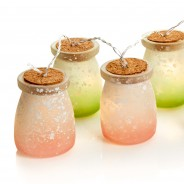 Frosted Jar Fairy Lights 2
