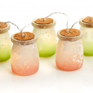 Frosted Jar Fairy Lights 1