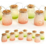 Frosted Jar Fairy Lights 3