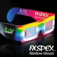 FX Spex Rainbow Glasses Standard (10 Pack) 2