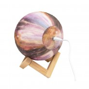 Galaxy Night Light on Wooden Stand  4 Rechargeable