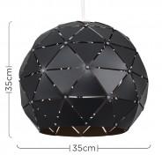 Geo Sphere Black Shade 4