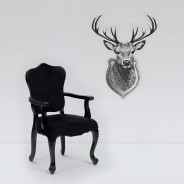 Giant Glow Deer Trophy Sticker 2