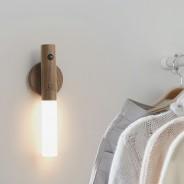 Gingko Smart Baton Wall Light 2 American Walnut
