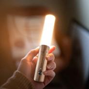 Gingko Smart Baton Wall Light 3 White Ash