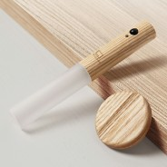 Gingko Smart Baton Wall Light 5 White Ash