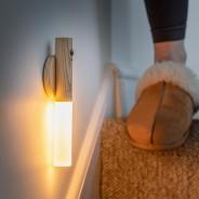 Gingko Smart Baton Wall Light 4 White Ash