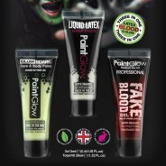 Glow in the Dark Liquid Latex Kit 2